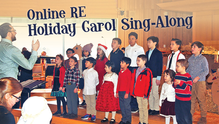 Online RE Holiday Carol Sing-Along